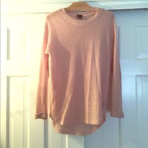 Light pink light sweater